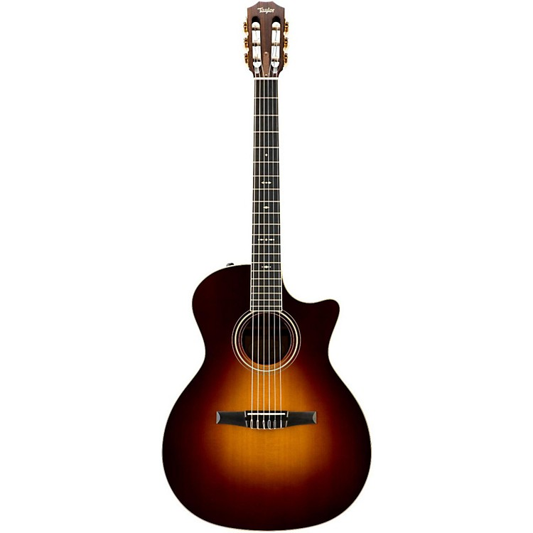Taylor 714CE-N Rosewood/Spruce Nylon String Grand Auditorium Acoustic-Electric Guitar Vintage Sunburst