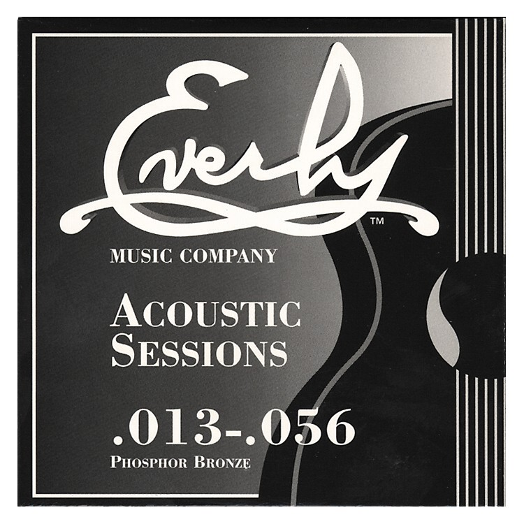 Everly 7213 Acoustic Sessions Phosphor/Bronze Heavy Acoustic Guitar Strings