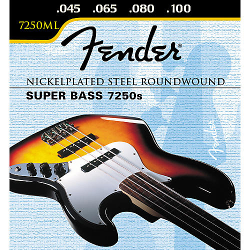 Fender 7250ML Super Bass Medium Light Strings