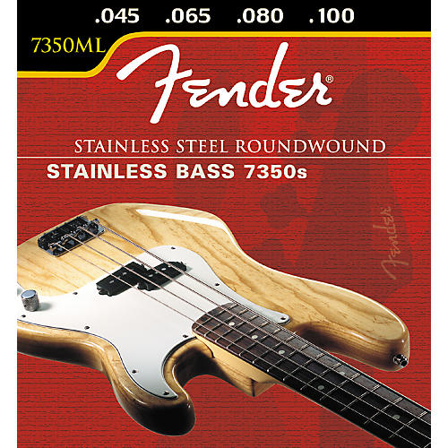 Fender 7350ML Stainless Steel RW LS Bass Strings-thumbnail