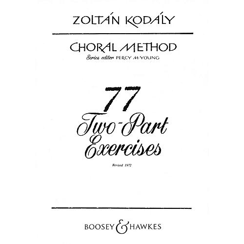 Boosey and Hawkes 77 Two-Part Exercises 2-Part Composed by Zoltán Kodály-thumbnail