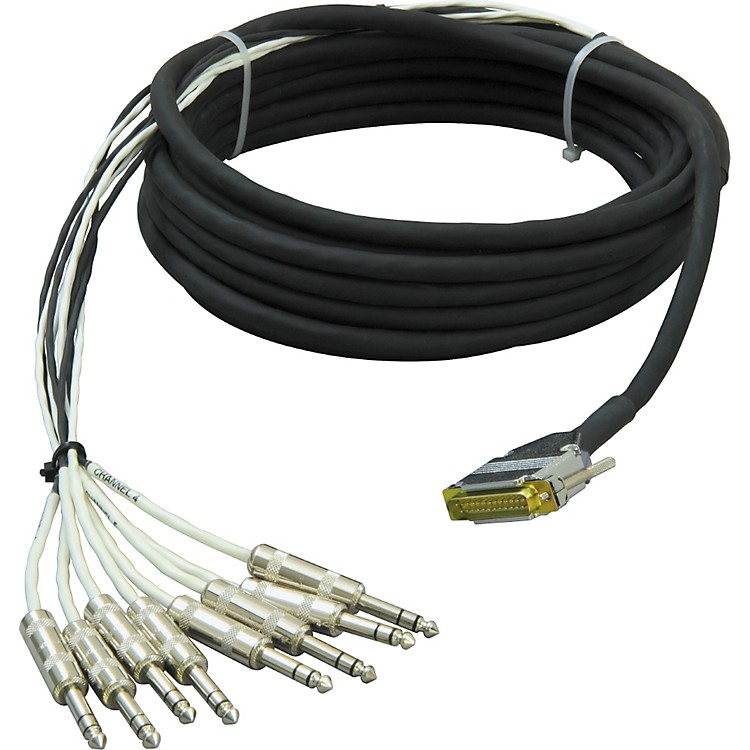 Live Wire 8-Channel DSUB-TRS Snake  10 Foot