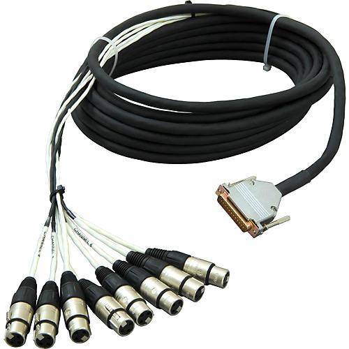 Live Wire 8-Channel DSUB-XLR(F) Snake