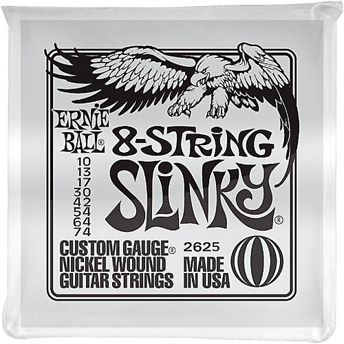 Ernie Ball 8-String Slinky Electric Guitar Strings 10-74