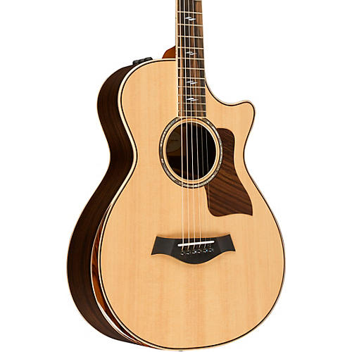Taylor 800 Deluxe Series 812ce DLX 12-Fret Grand Concert Acoustic-Electric Guitar-thumbnail