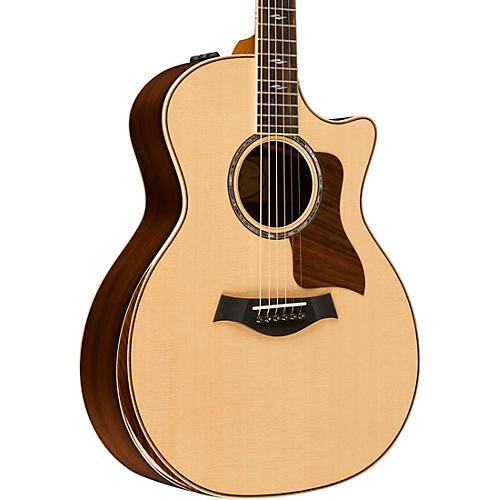 Taylor 800 Deluxe Series 814ce DLX Brazilian Grand Auditorium Acoustic-Electric Guitar-thumbnail