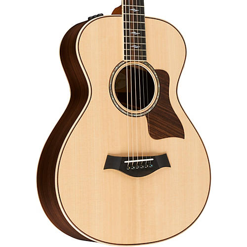 taylor 800 series 812e 12 fret grand concert acoustic electric guitar natural musician 39 s friend. Black Bedroom Furniture Sets. Home Design Ideas