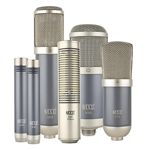 MXL 800 Series Microphone Bundle