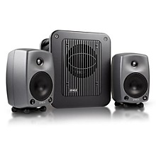 Genelec 8030 LSE Triple Play - Two 8030B Monitors with A 7050B Subwoofer Level 2  888365568683
