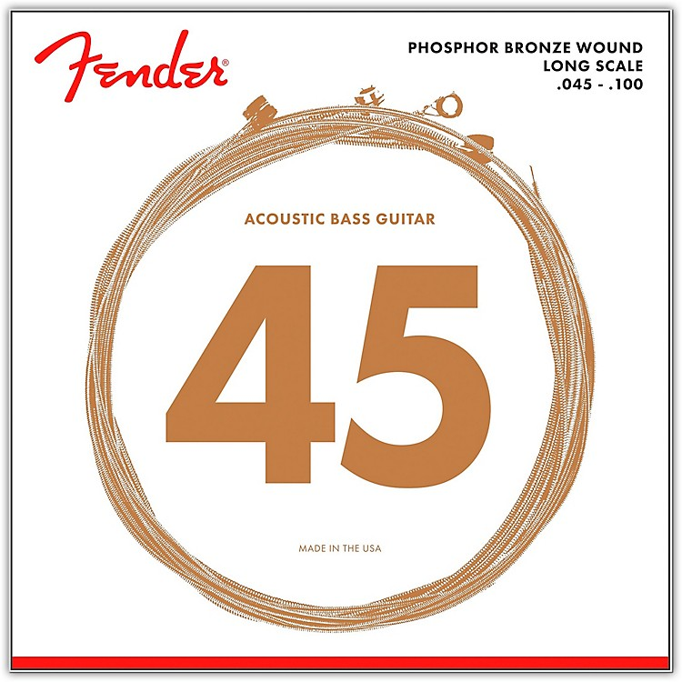 Fender 8060 PHOSPHOR BRONZE ACOUSTIC BASS STRINGS