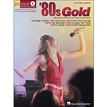 Hal Leonard 80s Gold - Pro Vocal Series for Female Singers Book/CD Volume 4