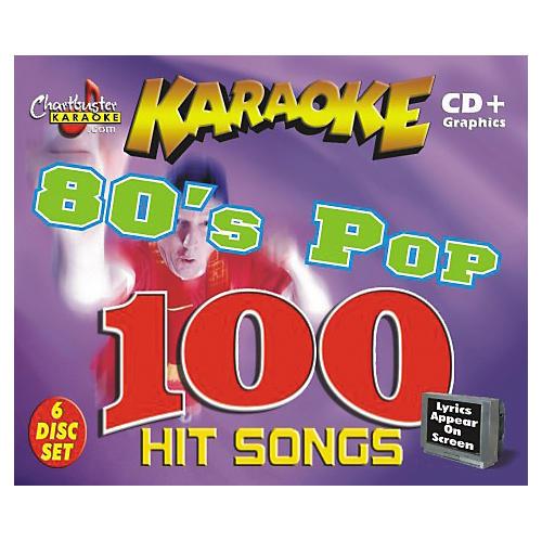Chartbuster Karaoke 80's Pop CD+G