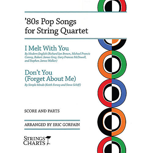 String Letter Publishing 80s Pop Songs for String Quartet String Letter Publishing by Modern English Arranged by Eric Gorfain