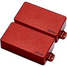 EMG 81/60 Active Electric Guitar Humbucker Pickup Set Red