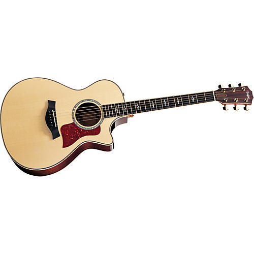 Taylor 812ce-L Rosewood/Spruce Grand Concert Left-Handed Acoustic-Electric Guitar-thumbnail