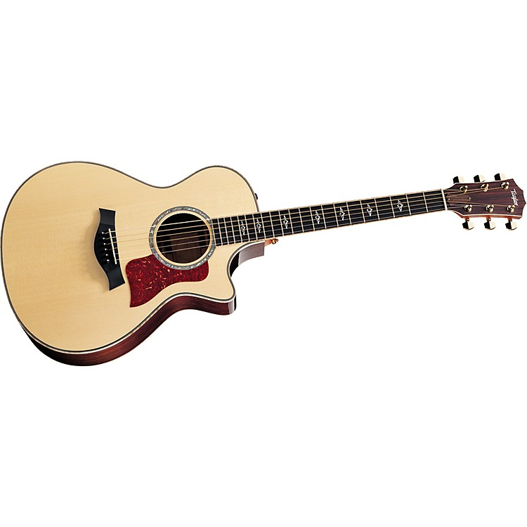 Taylor812ce-L Rosewood/Spruce Grand Concert Left-Handed Acoustic-Electric Guitar