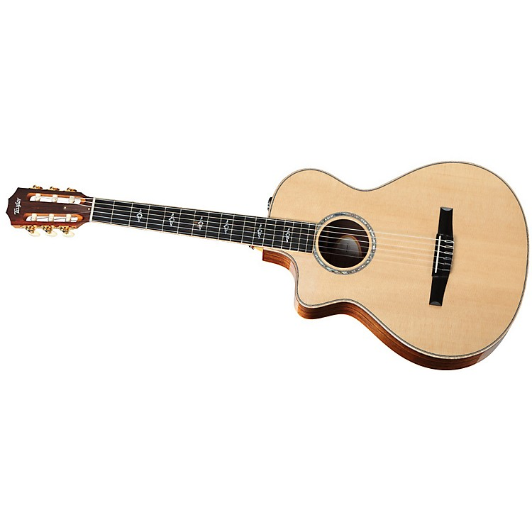 Taylor 812ce-N-L Rosewood/Spruce Nylon String Grand Concert Left-Handed Acoustic-Electric Guitar