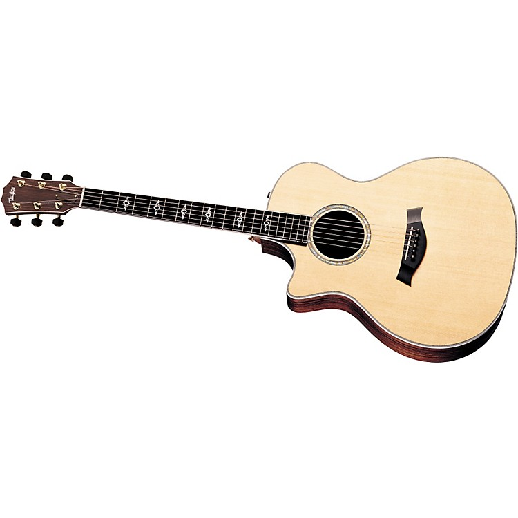 Taylor814ce-L Rosewood/Spruce Grand Auditorium Left-Handed Acoustic Electric Guitar