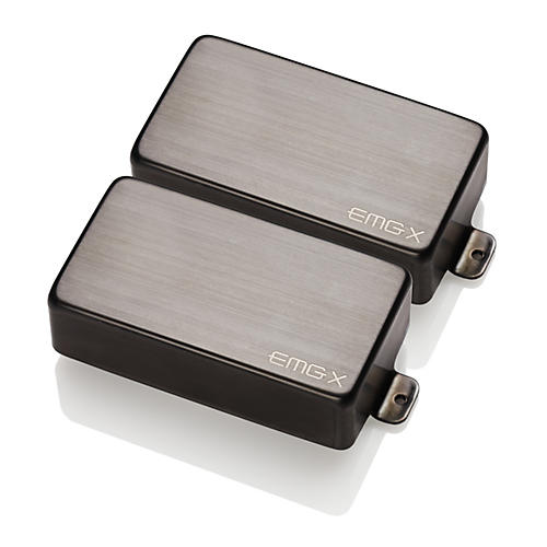 EMG 81X/60X Custom Humbucker Set Black Chrome
