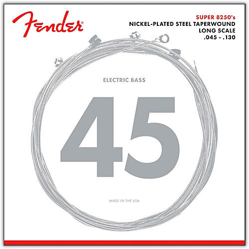 Fender 8250-5M Nickel-Plated Steel Taperwound 5-String Bass Strings - Medium-thumbnail