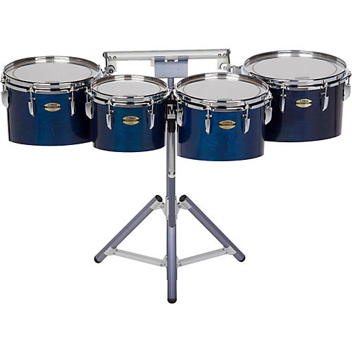Yamaha 8300 Series Field-Corp Series Marching Tenor Quad 10, 12, 13 and 14 in. Blue Forest