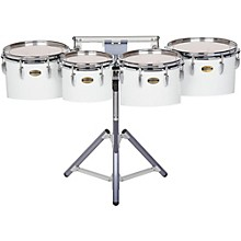 Yamaha 8300 Series Field-Corp Series Marching Tenor Quad 10, 12, 13 and 14 in. White wrap