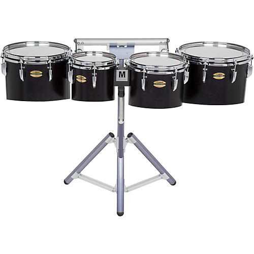 Yamaha 8300 Series Field-Corp Series Marching Tenor Quad 8/10/12/13 in. Black Forest