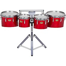 Yamaha 8300 Series Field-Corp Series Marching Tenor Quad 8/10/12/13 in. Red Forest