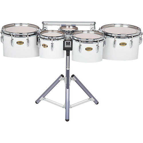 Yamaha 8300 Series Field-Corp Series Marching Tenor Quint 8/10/12/13/14 in. White wrap-thumbnail