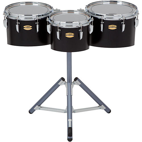 Yamaha 8300 Series Field-Corp Series Marching Tenor Trio 10, 12 and 13 in. Black Forest