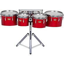 Yamaha 8300 Series Field-Corps Marching Sextet 6, 6, 8, 10, 12, 13 in. Red Forest