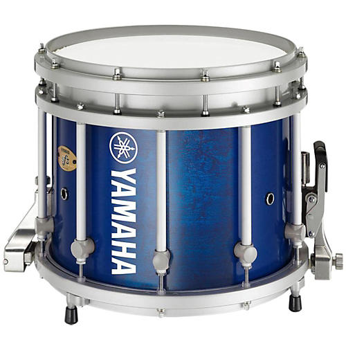 Yamaha 8300 Series SFZ Marching Snare Drum 13 x 11 in. Blue Forest with Standard Hardware