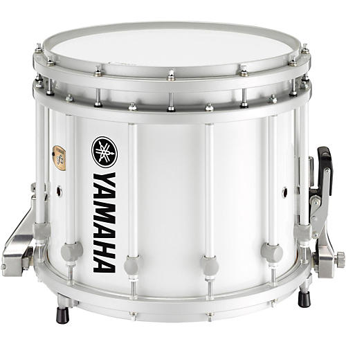 Yamaha 8300 Series SFZ Marching Snare Drum 14 x 12 in. White with Standard Hardware