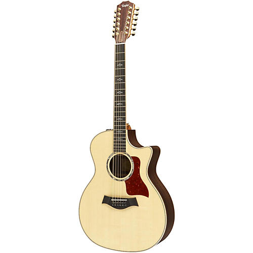 Taylor 854ce Grand Auditorium Acoustic-Electric Guitar (2011 Model) Gloss Natural