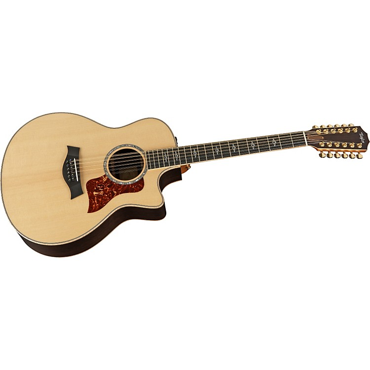 Taylor856ce Rosewood/Spruce Grand Symphony 12-String Acoustic-Electric Guitar