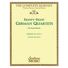 Southern 88 German Quartets (Horn Quartet - Horn T.C. 4) Southern Music Series Arranged by Thomas Bacon