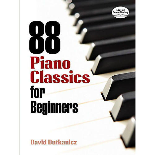 Alfred 88 Piano Classics for Beginners Book-thumbnail