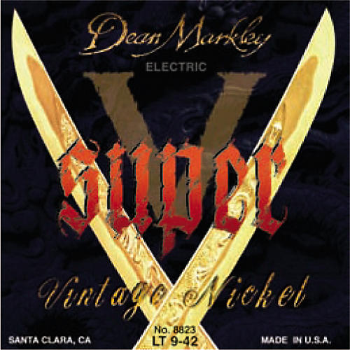 Dean Markley 8823 Super V Light Electric Guitar Strings