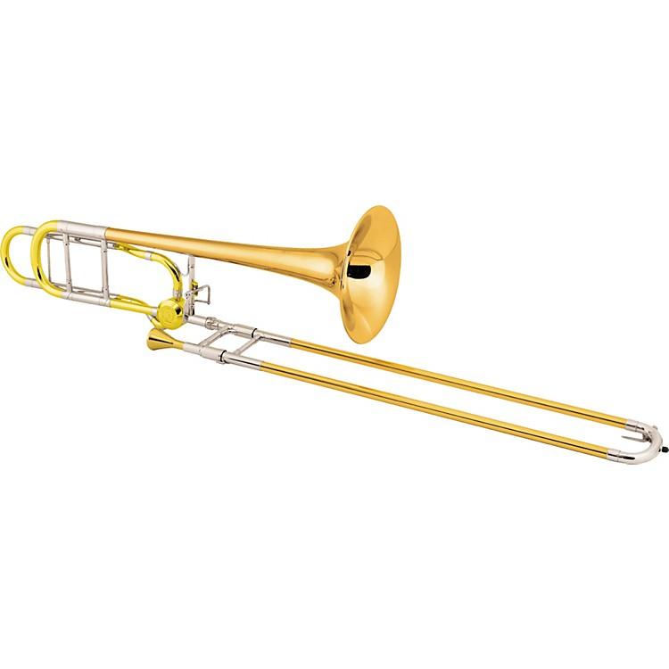 Conn88HCL Symphony Series F Attachment TromboneLacquerRose Brass Bell