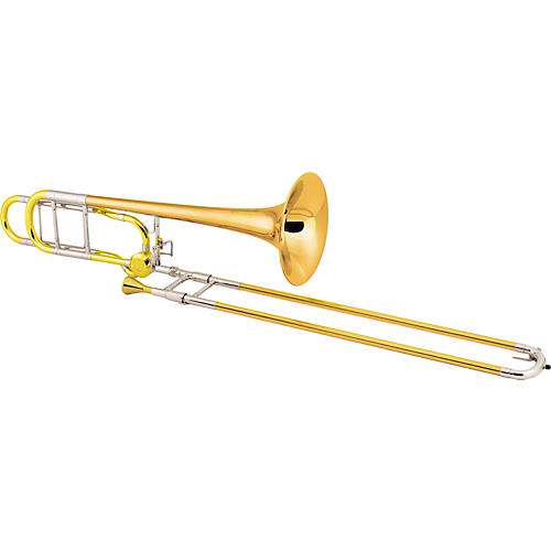Conn 88HCL Symphony Series F Attachment Trombone Lacquer Thin Rose Brass Bell