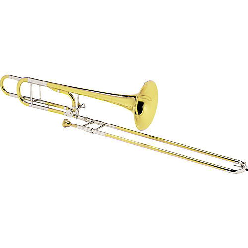 Conn 88HO Symphony Series F Attachment Trombone Lacquer Yellow Brass Bell