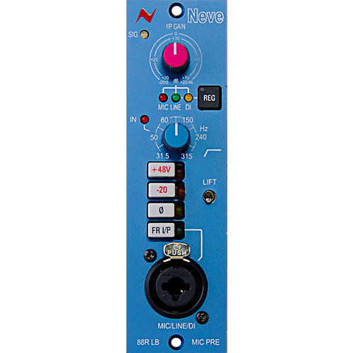 Neve 88RLB 500-Series Mono Microphone Preamp Module
