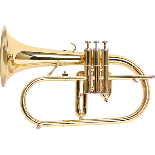 Getzen 895 and 896 Eterna Series Bb Flugelhorn 895 Lacquer 3-Valve