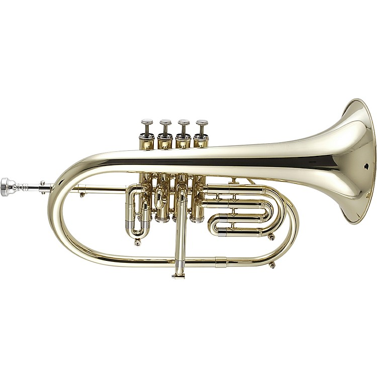 Getzen 895 and 896 Eterna Series Bb Flugelhorn 896 Lacquer 4-Valve