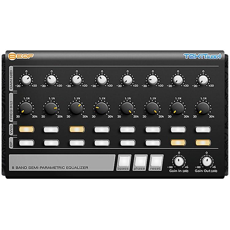 Tek'it Audio8EQF 8-Band Semi-Parametric Equalizer Plug-in Software DownloadSoftware Download