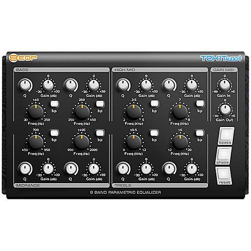 Tek'it Audio 8EQP 8-Band Parametric Equalizer Plug-in Software Download