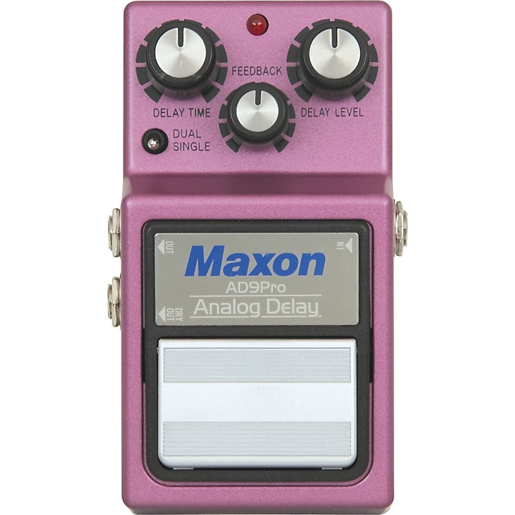 Maxon 9-Series AD-9 Pro Analog Delay Pedal