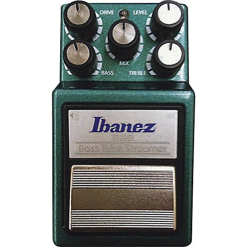 Ibanez 9 Series TS9B Bass Tube Screamer Overdrive Bass Effects Pedal Green