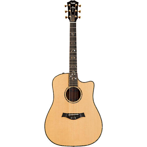 Taylor 900 Series 2014 910ce Dreadnought Acoustic-Electric Guitar-thumbnail