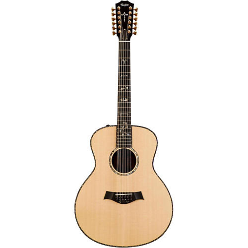 Taylor 900 Series 2014 956e Grand Symphony  Acoustic-Electric 12-String Guitar Natural